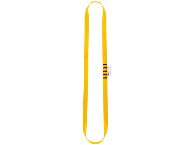 Petzl Anneau Scaldacollo Tubolare 60cm, giallo